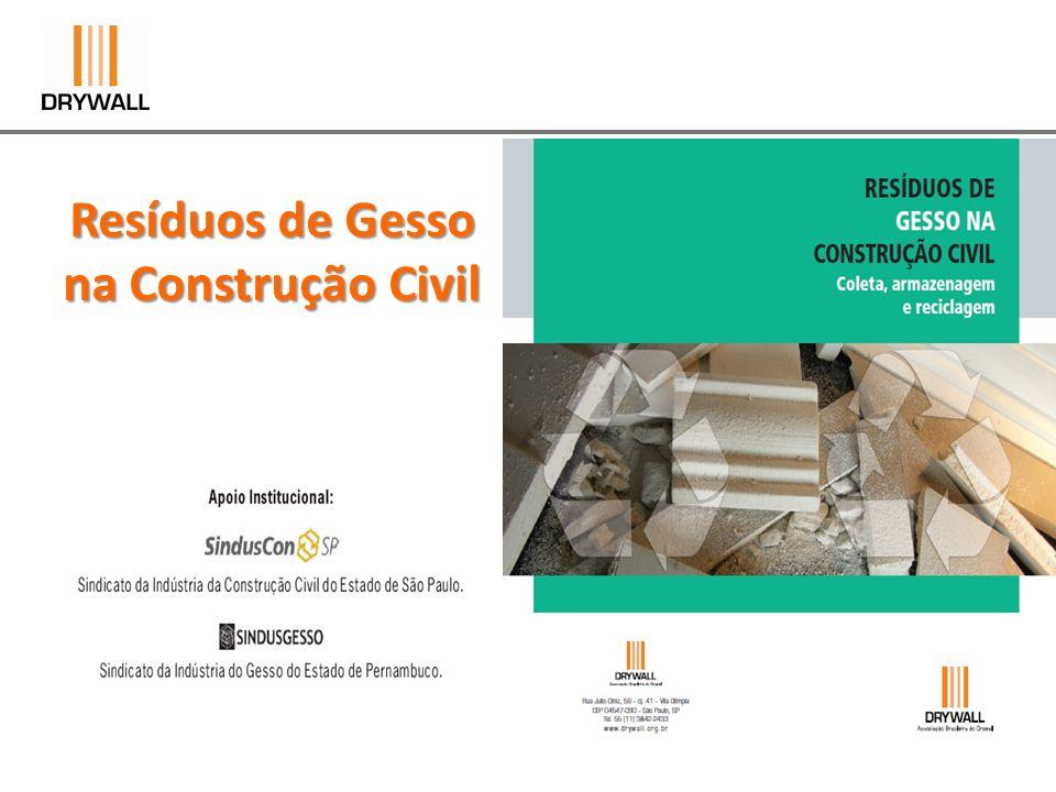 Resíduos de Gesso na Construção Civil