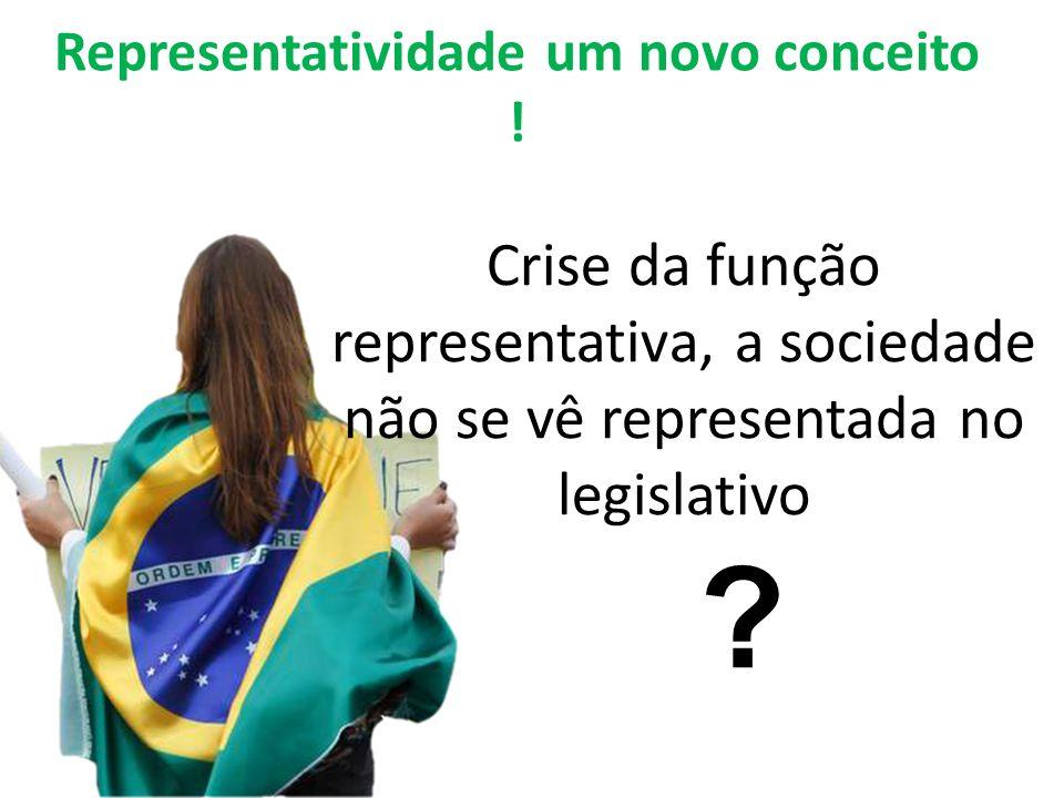 Representatividade um novo conceito !