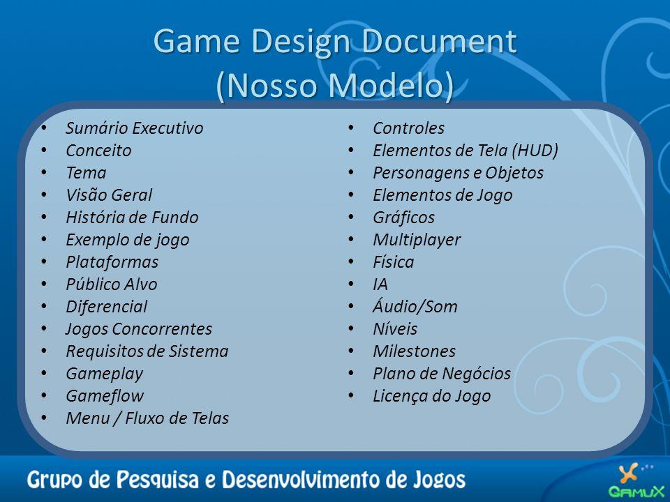 Game Design Document (Nosso Modelo)