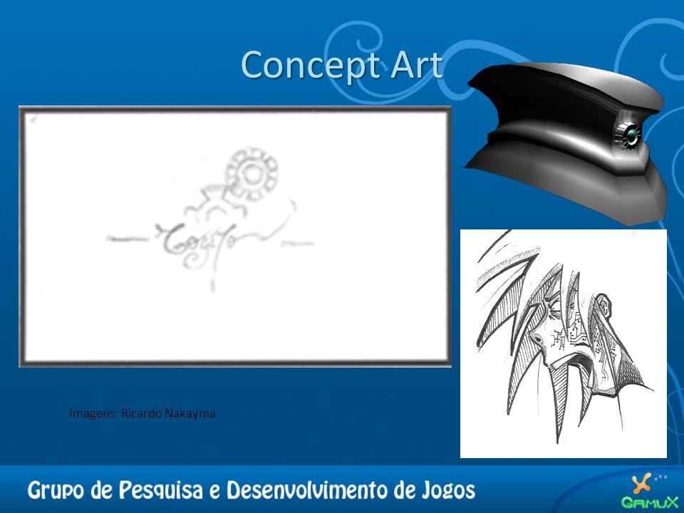 Concept Art Imagens: Ricardo Nakayma