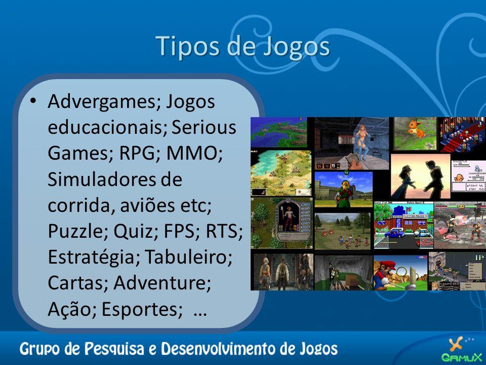 Tipos de Jogos