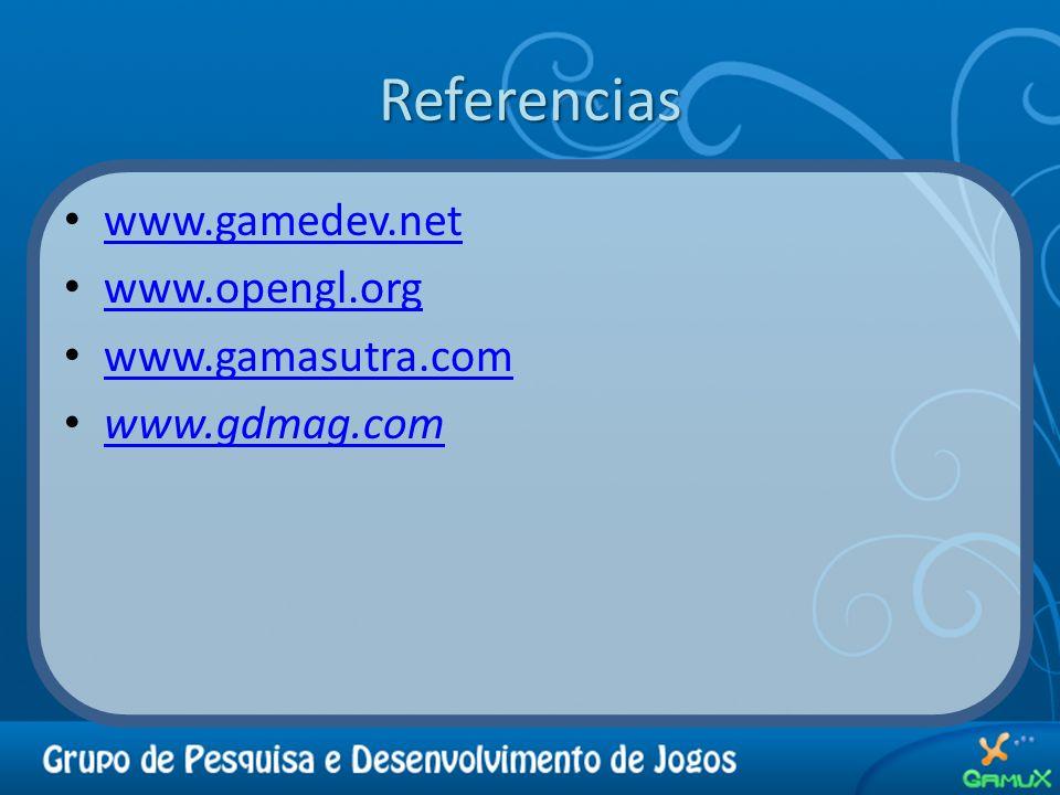 Referencias www.gamedev.net www.opengl.org www.gamasutra.com