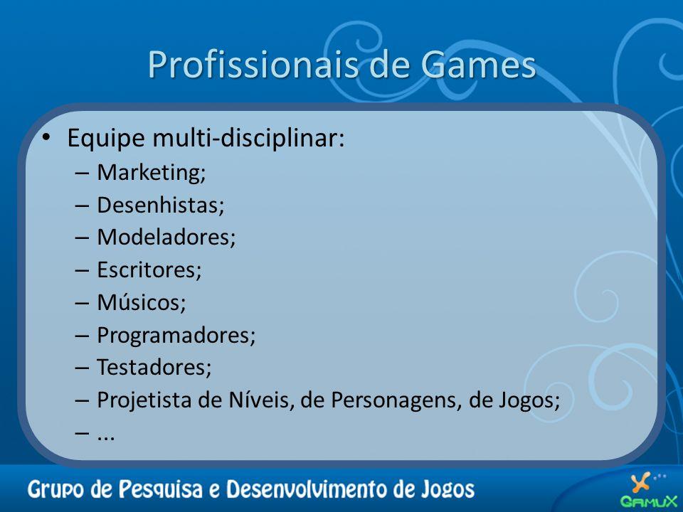Profissionais de Games