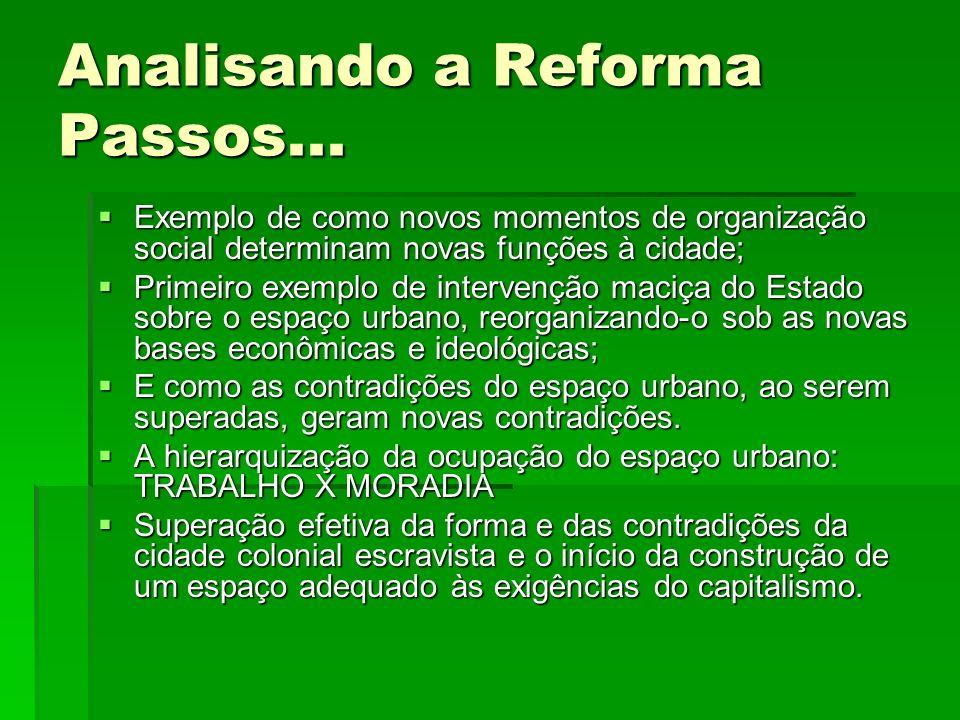 Analisando a Reforma Passos...
