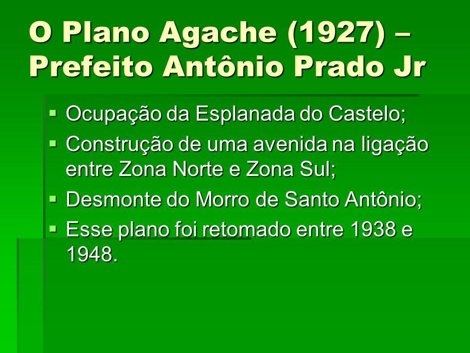 O Plano Agache (1927) – Prefeito Antônio Prado Jr