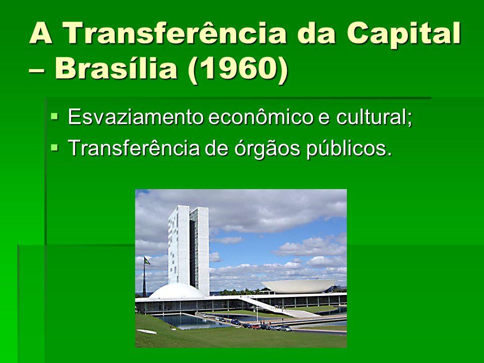 A Transferência da Capital – Brasília (1960)