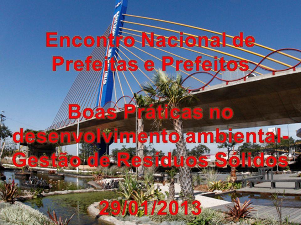 Encontro Nacional de Prefeitas e Prefeitos