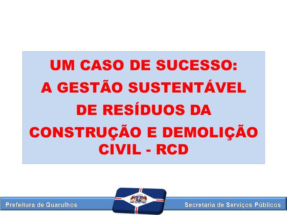 CONSTRUÇÃO E DEMOLIÇÃO CIVIL - RCD