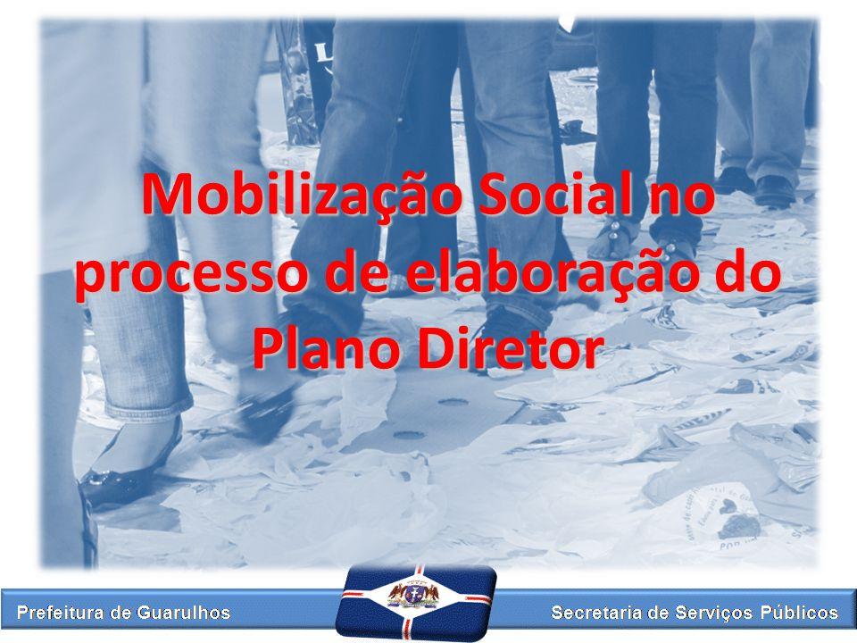 Mobilização Social no processo de elaboração do Plano Diretor