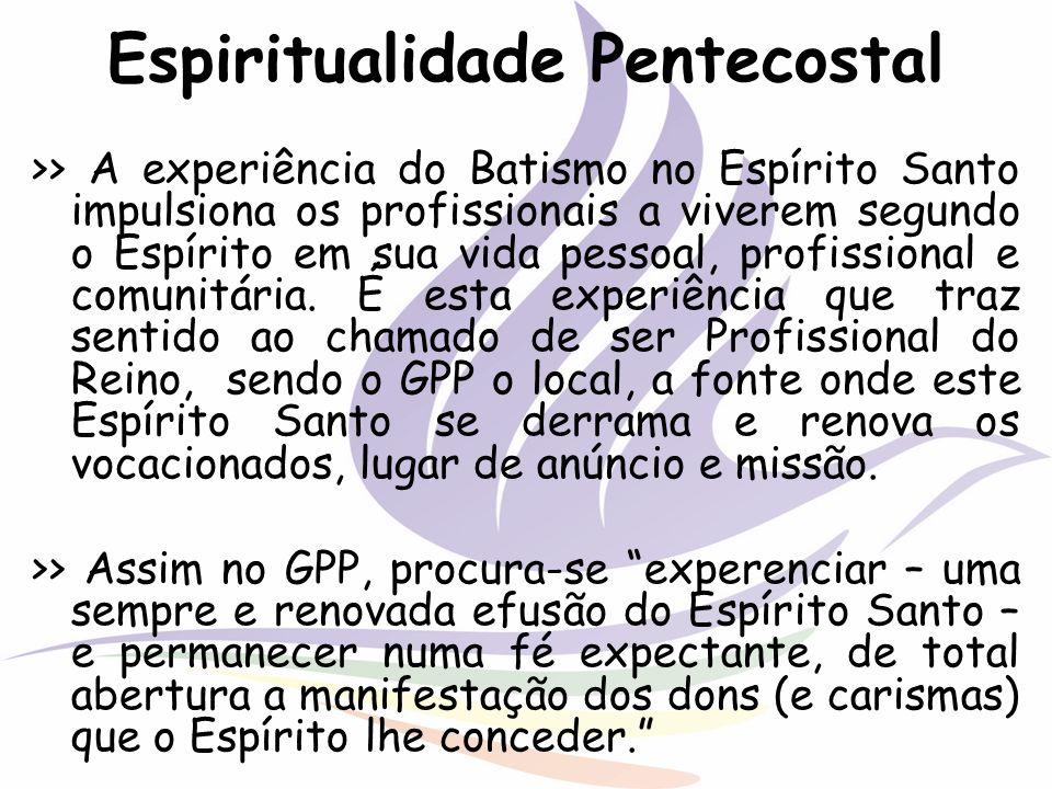 Espiritualidade Pentecostal