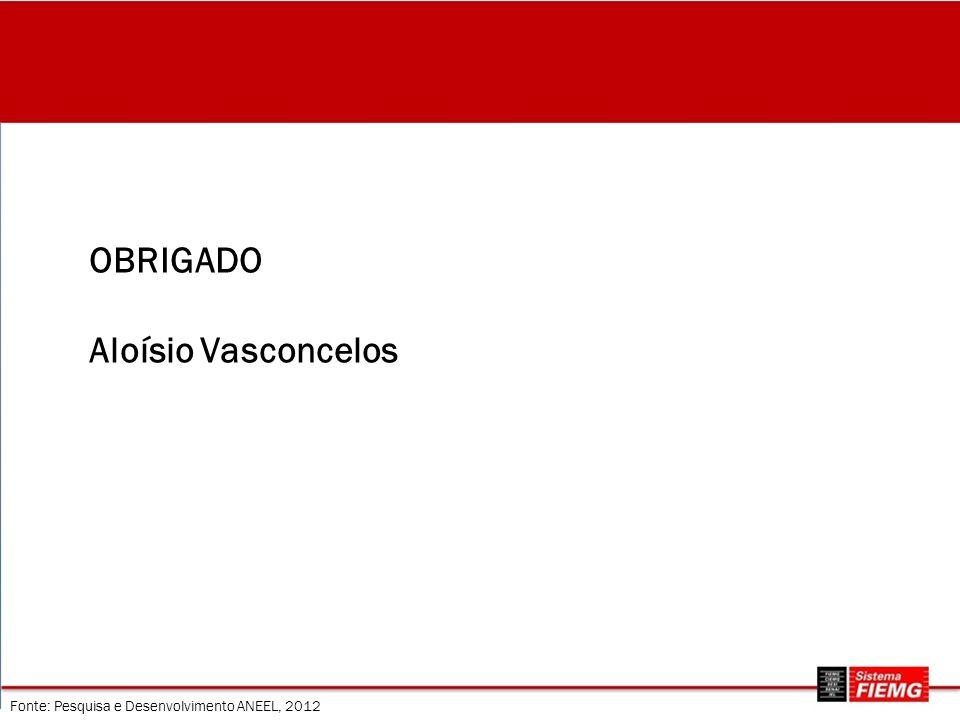 OBRIGADO Aloísio Vasconcelos