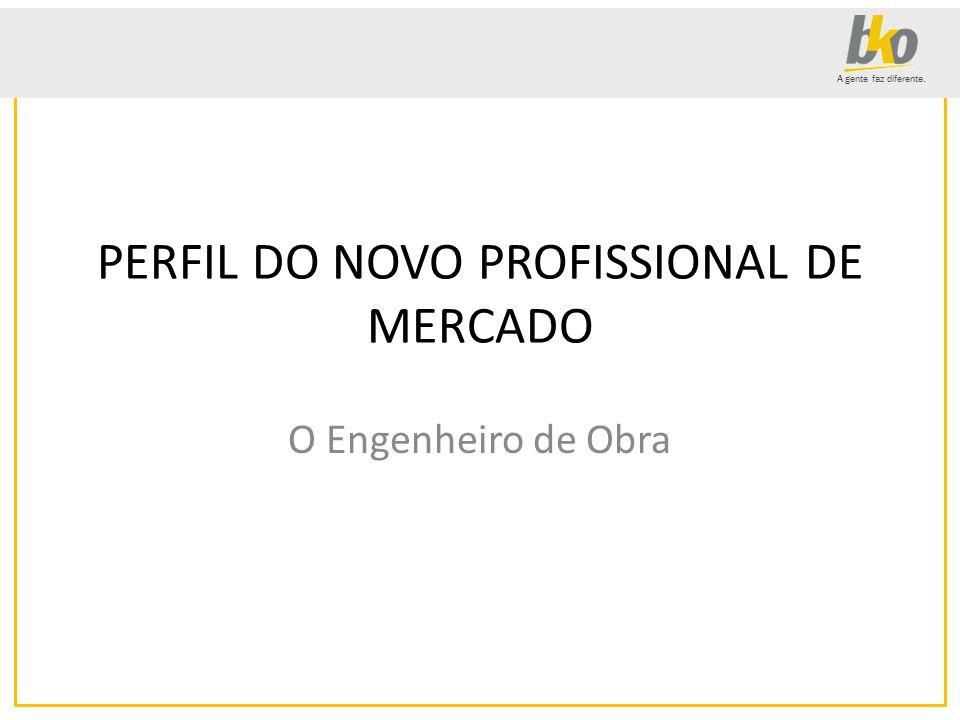 PERFIL DO NOVO PROFISSIONAL DE MERCADO
