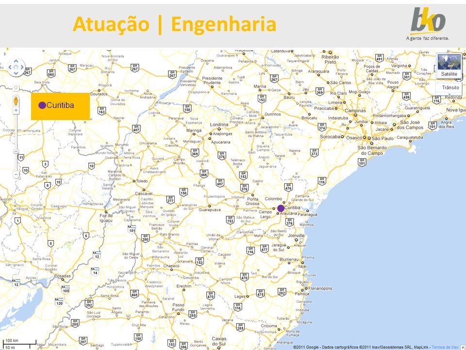 Atuação | Engenharia Curitiba Curitiba MENU