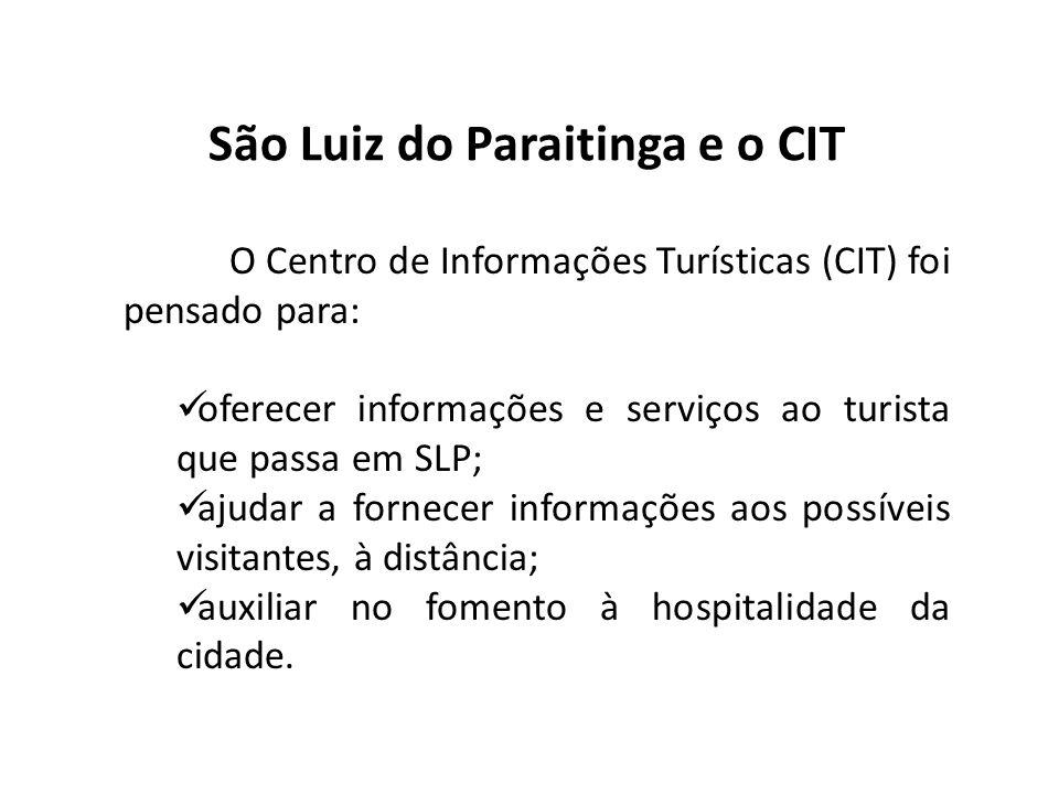 São Luiz do Paraitinga e o CIT