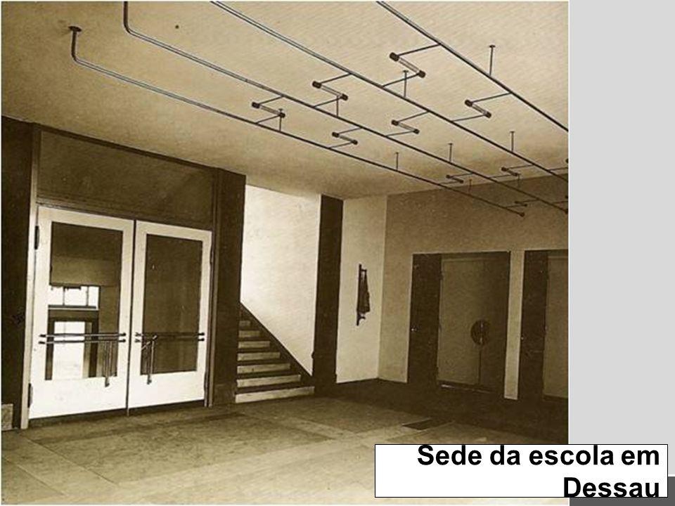 Sede da escola em Dessau
