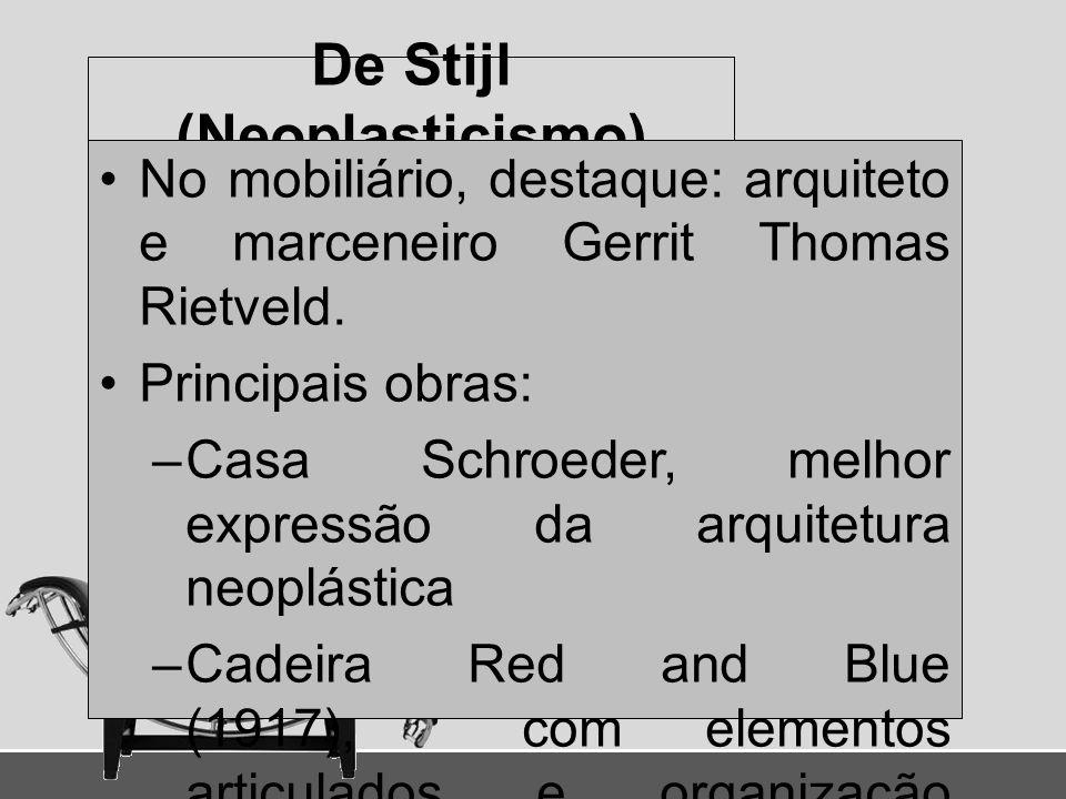 De Stijl (Neoplasticismo)