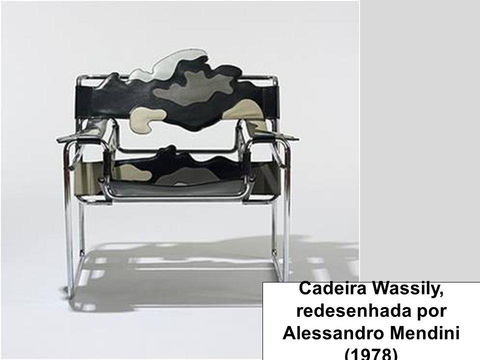 Cadeira Wassily, redesenhada por Alessandro Mendini (1978)