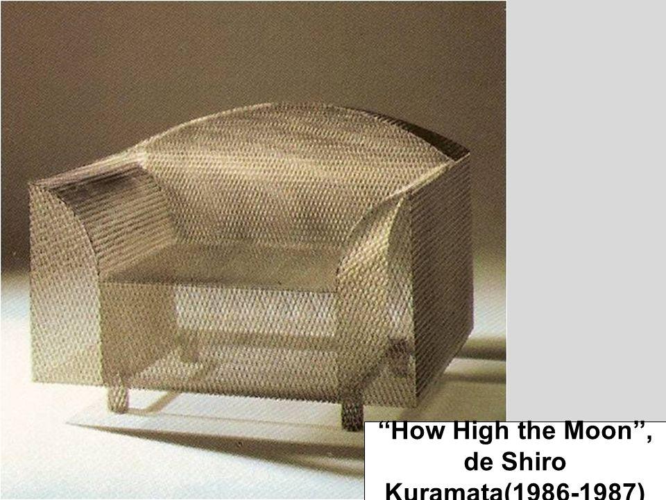 ''How High the Moon'', de Shiro Kuramata(1986-1987)