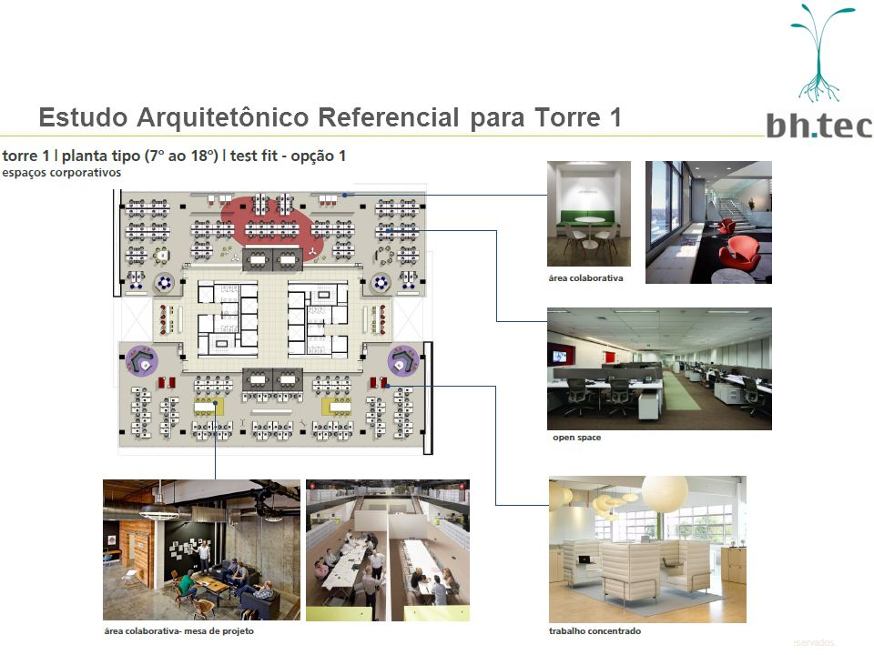 Estudo Arquitetônico Referencial para Torre 1
