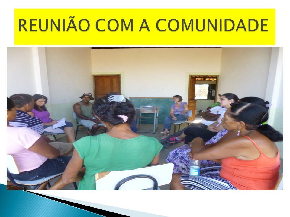 REUNIÃO COM A COMUNIDADE