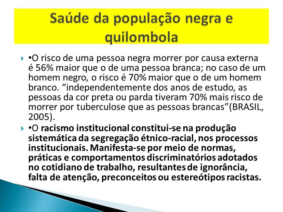 Saúde da população negra e quilombola