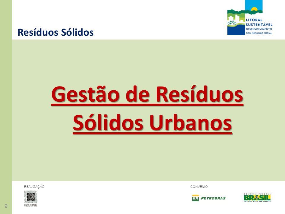 Gestão de Resíduos Sólidos Urbanos