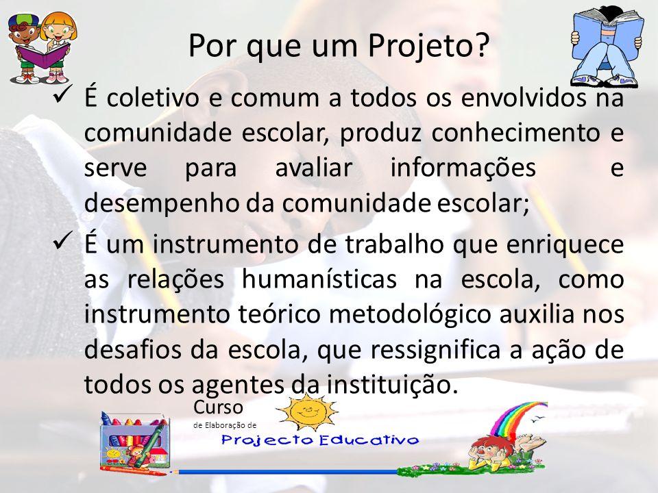 Por que um Projeto