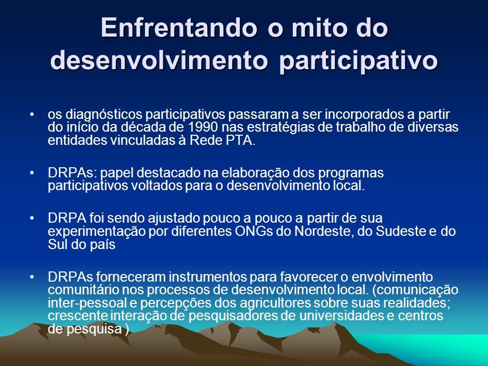 Enfrentando o mito do desenvolvimento participativo