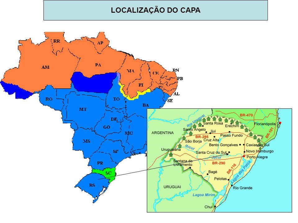 LOCALIZAÇÃO DO CAPA