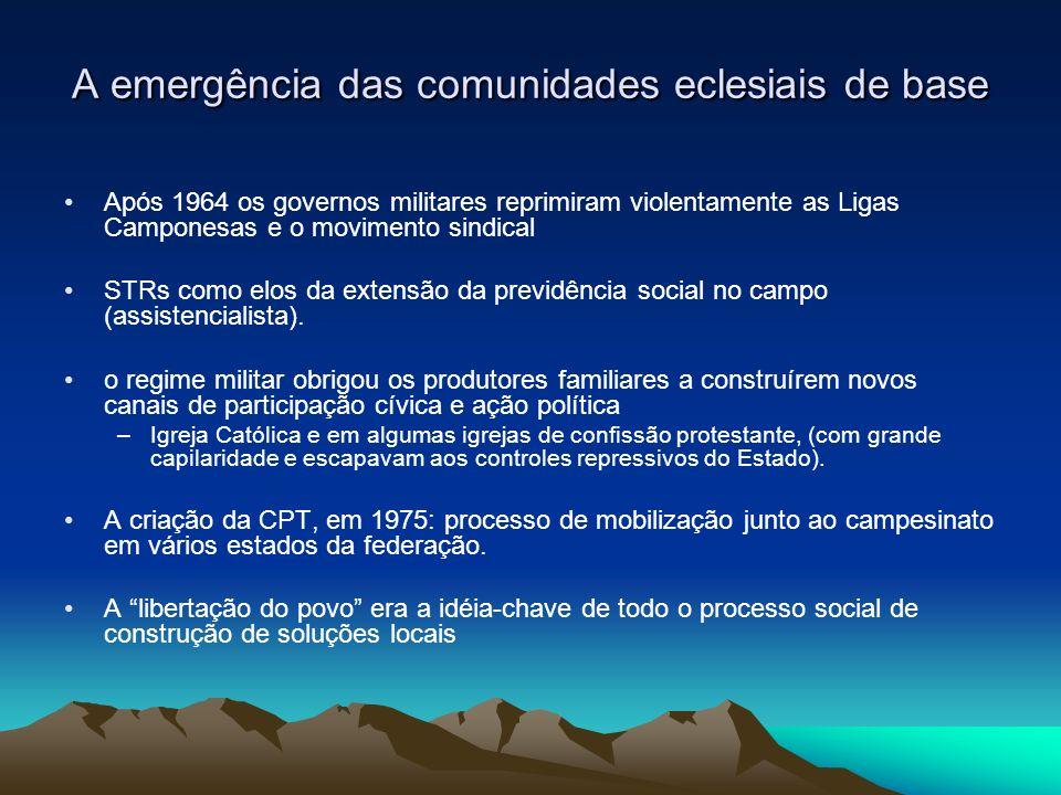 A emergência das comunidades eclesiais de base