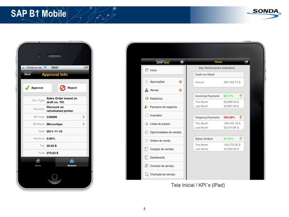 SAP B1 Mobile