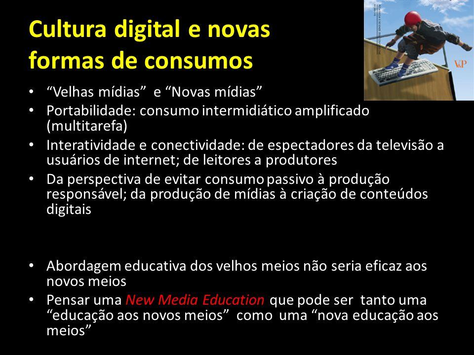 Cultura digital e novas formas de consumos