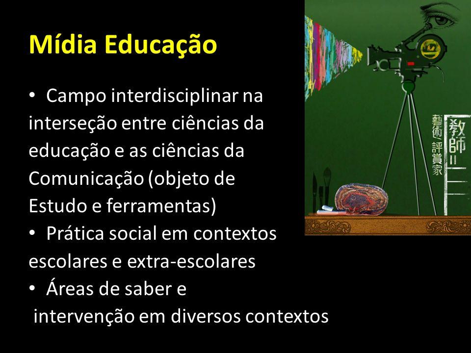 Mídia Educação Campo interdisciplinar na interseção entre ciências da