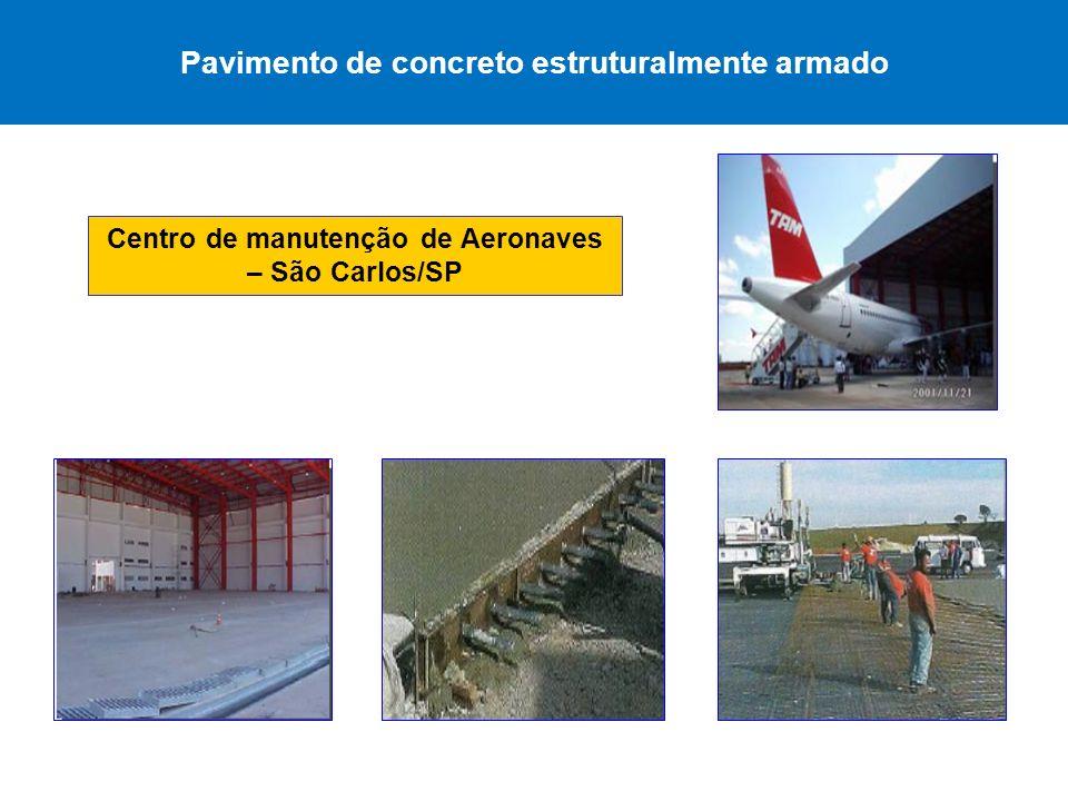 Pavimento de concreto estruturalmente armado