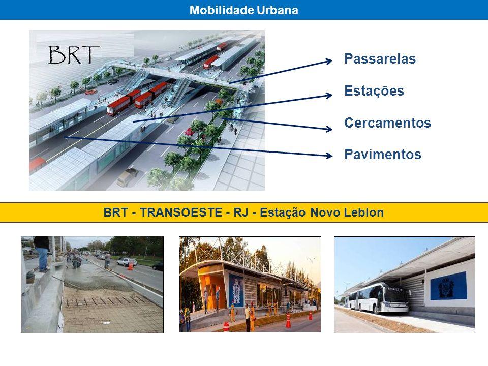 BRT - TRANSOESTE - RJ - Estação Novo Leblon