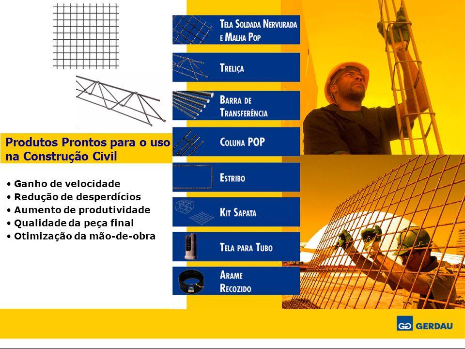 Produtos Prontos para o uso na Construção Civil