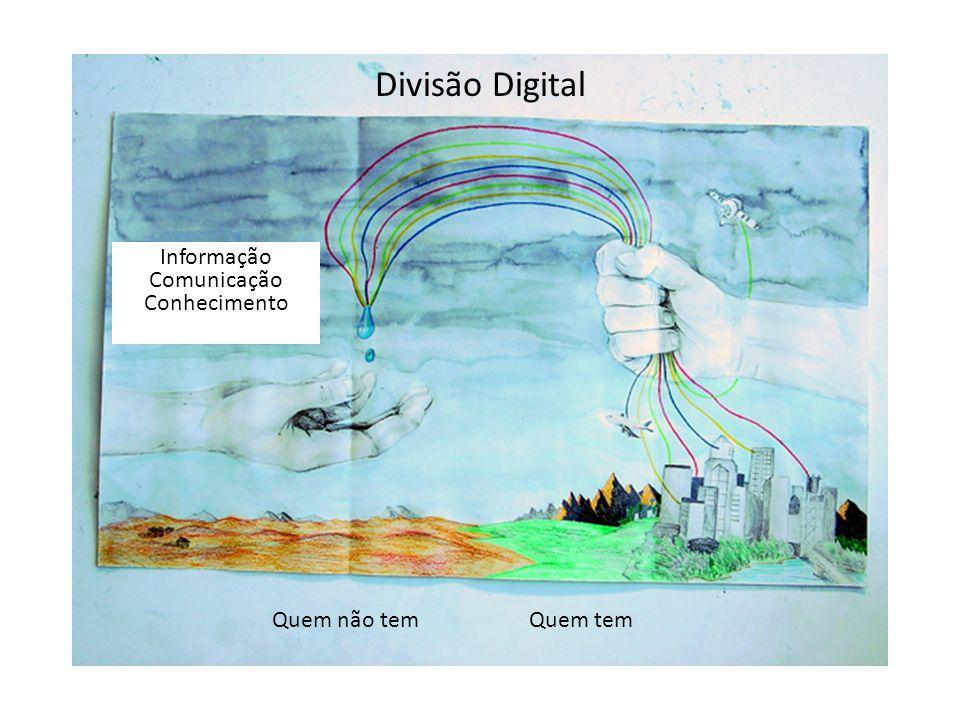 Divisão Digital Informação Comunicação Conhecimento