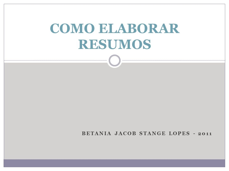 Betania Jacob Stange lopes - 2011