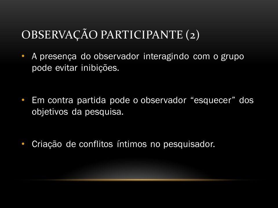 Observação Participante (2)