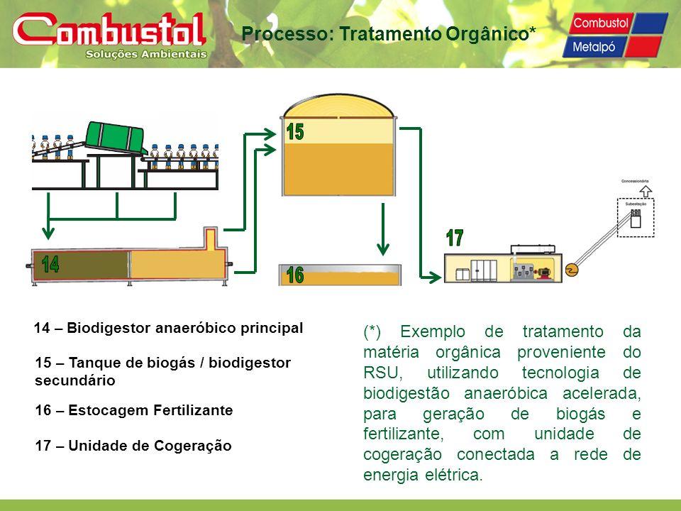 Processo: Tratamento Orgânico*