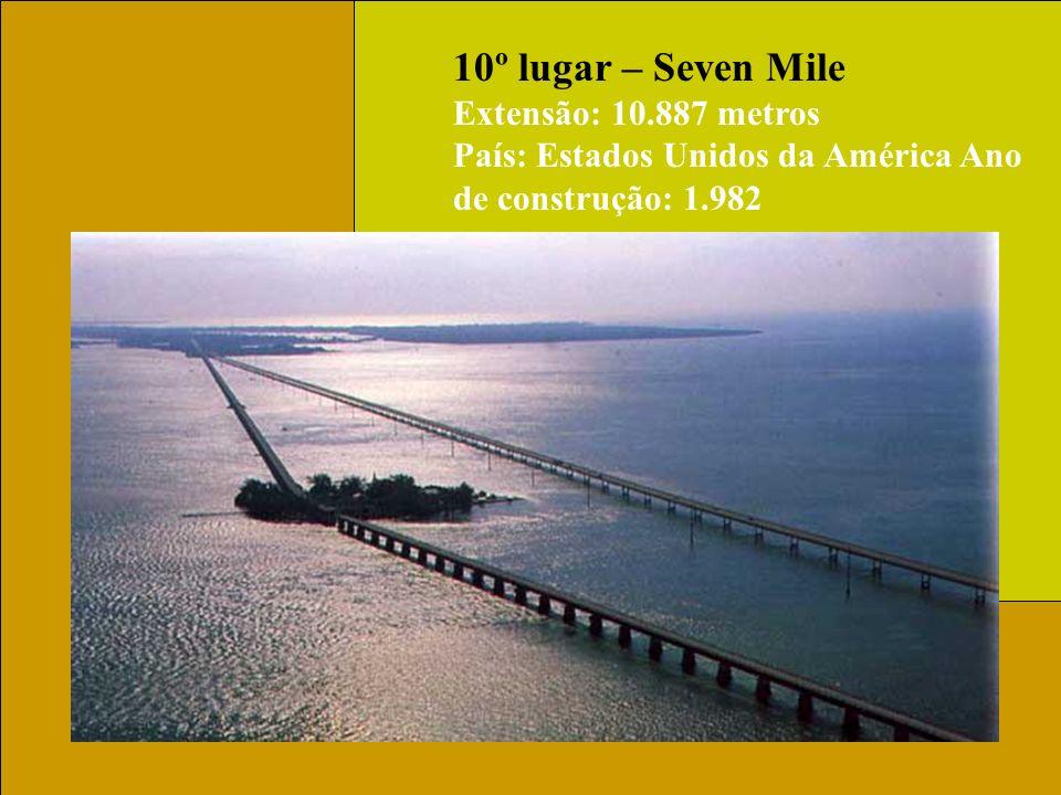 10º lugar – Seven Mile Extensão: 10