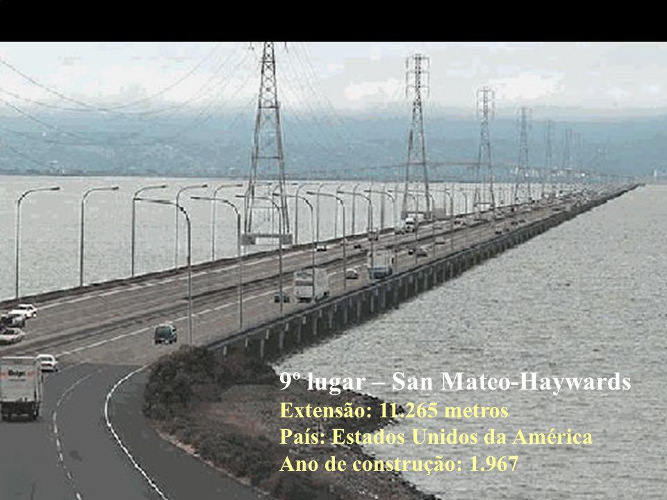 9º lugar – San Mateo-Haywards Extensão: 11