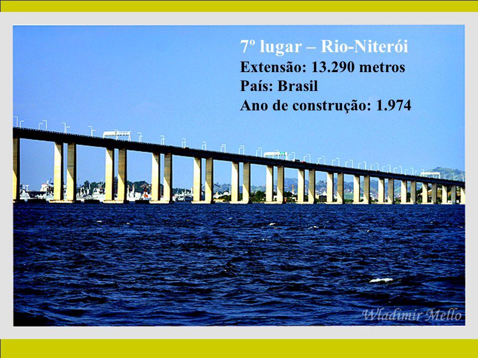 7º lugar – Rio-Niterói Extensão: 13