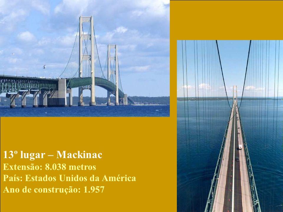 13º lugar – Mackinac Extensão: 8