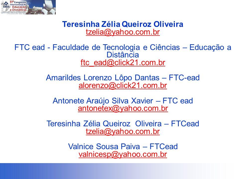 Teresinha Zélia Queiroz Oliveira