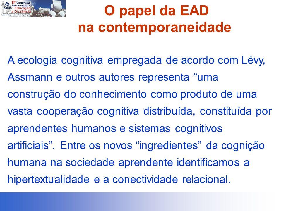 O papel da EAD na contemporaneidade
