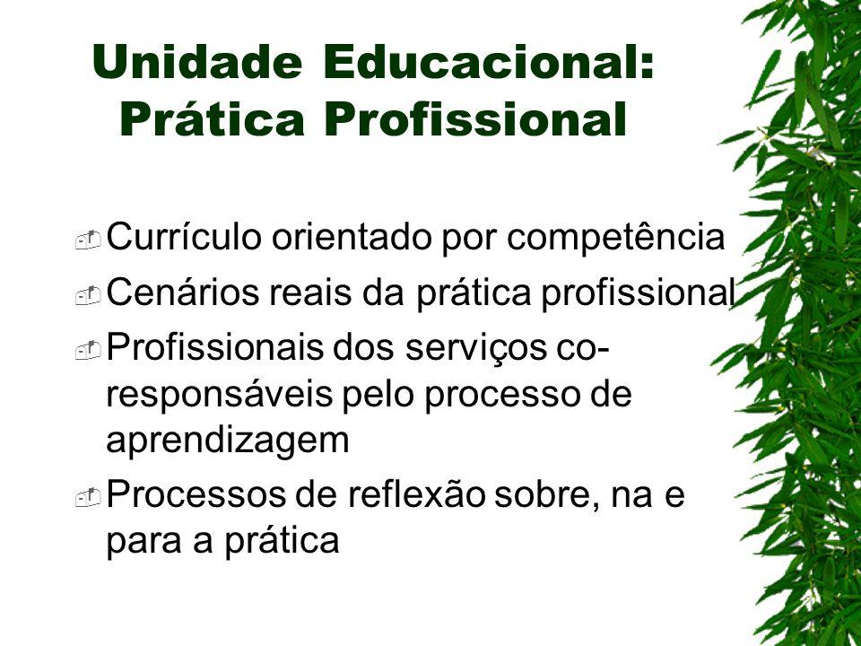 Unidade Educacional: Prática Profissional