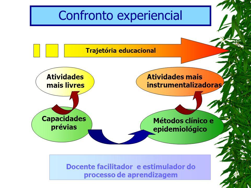 Docente facilitador e estimulador do processo de aprendizagem