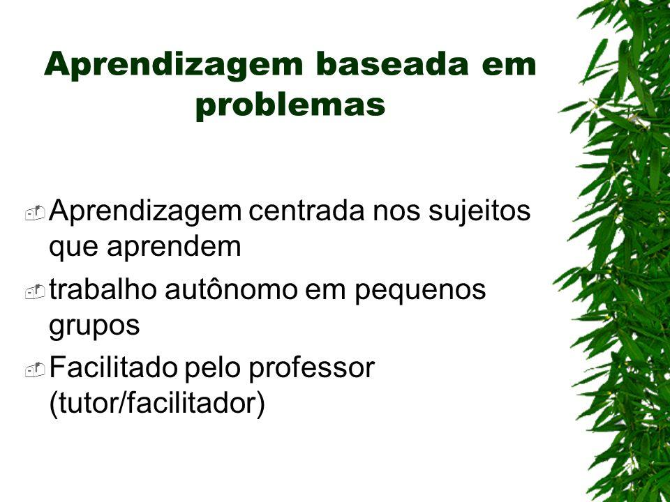 Aprendizagem baseada em problemas