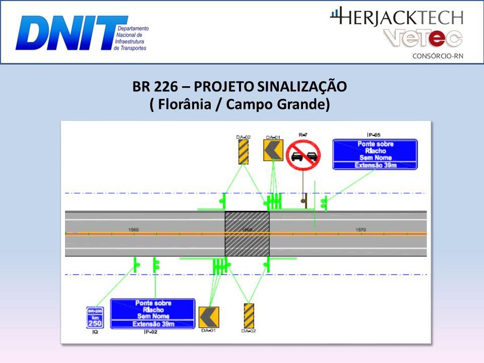 BR 226 – PROJETO SINALIZAÇÃO ( Florânia / Campo Grande)